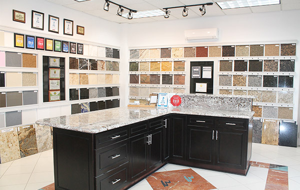 Atlanta granite countertops showroom